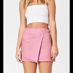 Carmar Side Buckle Skirt - Lilac
